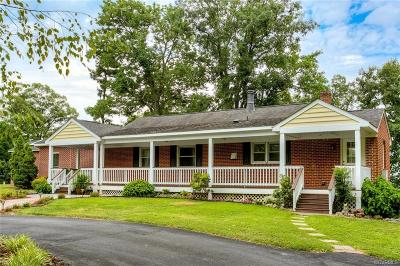 Charles City VA Single Family Home For Sale: $599,500