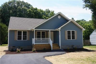 Hopewell VA Single Family Home For Sale: $159,950