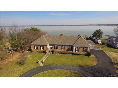 Tappahannock VA Single Family Home For Sale: $744,000