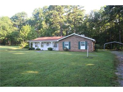 Prince George Single Family Home For Sale: 2206 Clary Road