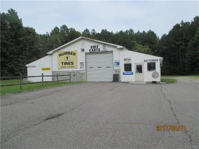 Commercial For Sale: 11801 Boydton Plank Road