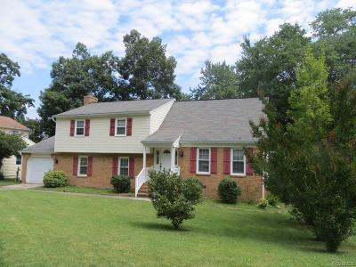 Colonial Heights Single Family Home For Sale: 3630 Hawick Drive