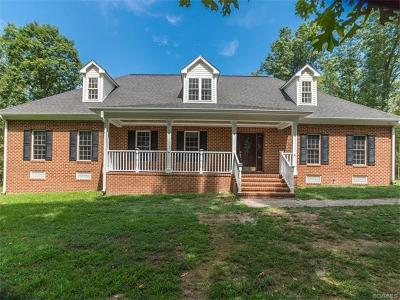 Powhatan County Single Family Home For Sale: 941 Genito West Boulevard