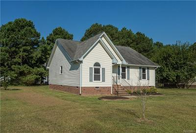 Dinwiddie Single Family Home For Sale: 4518 Brickwood Meadow Court