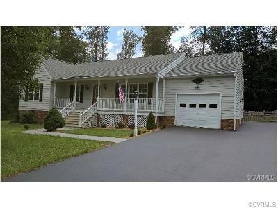 Mechanicsville Single Family Home For Sale: 9322 Blagdon Drive