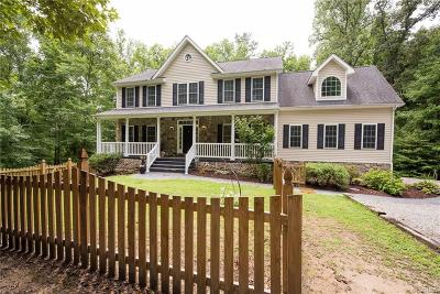 Hanover County Single Family Home For Sale: 9137 Hudnall Road