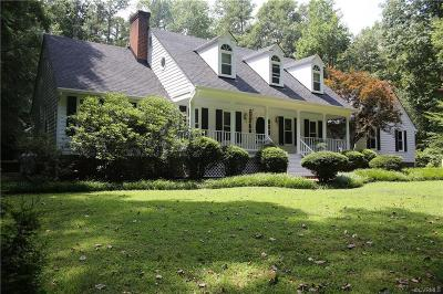Powhatan County Single Family Home For Sale: 1929 Woodberry Mill Road