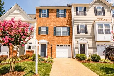 Hanover County Condo/Townhouse For Sale: 8163 Belton Circle #8163