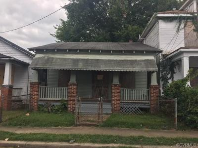 Richmond Single Family Home For Sale: 1804 Stockton Street