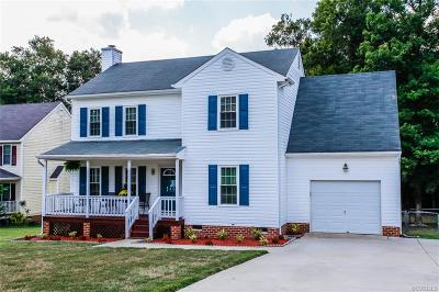 Prince George VA Single Family Home For Sale: $224,500
