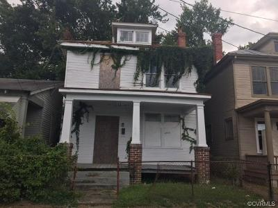 Richmond Single Family Home For Sale: 1806 Stockton Street