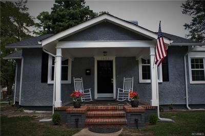 Petersburg Single Family Home For Sale: 1823 Brandon Avenue