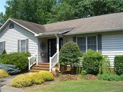 Tappahannock VA Single Family Home For Sale: $279,950