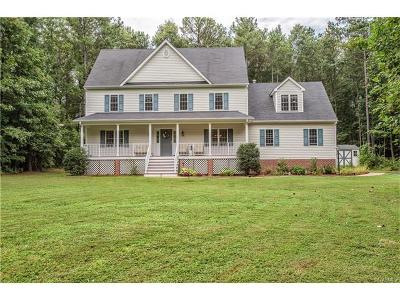 Chesterfield VA Single Family Home For Sale: $319,000