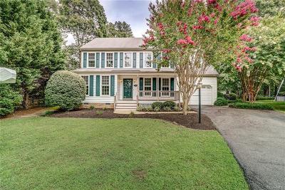 Glen Allen Single Family Home For Sale: 9604 Fireside Drive