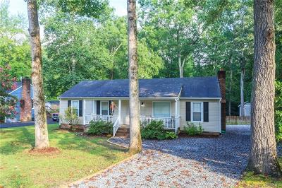 Chesterfield VA Single Family Home For Sale: $154,950