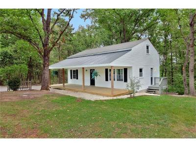 Powhatan Single Family Home For Sale: 2140 Red Lane Road