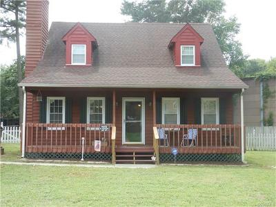 Hopewell VA Single Family Home For Sale: $132,500