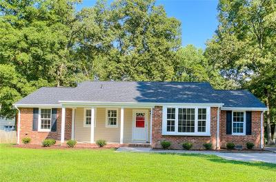 Henrico Single Family Home For Sale: 1517 Village Grove Road