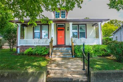 Richmond Single Family Home For Sale: 1711 Rogers Street