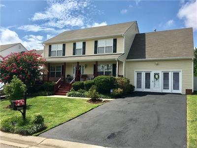 Chesterfield VA Single Family Home For Sale: $269,500