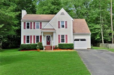 Chesterfield VA Single Family Home For Sale: $224,900