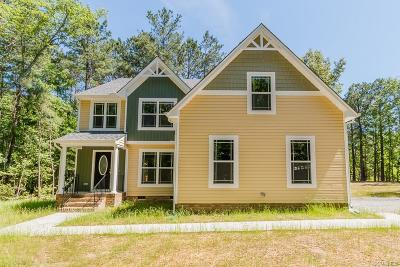 Glen Allen Single Family Home For Sale: 2490 Mountain Road