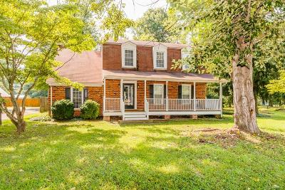 Hanover County Single Family Home For Sale: 12315 Melton Road