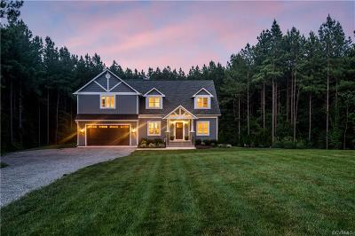 Powhatan Single Family Home For Sale: 314 Clayville Road