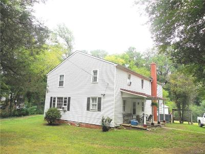 Dinwiddie Single Family Home For Sale: 14050 Boydton Plank Road