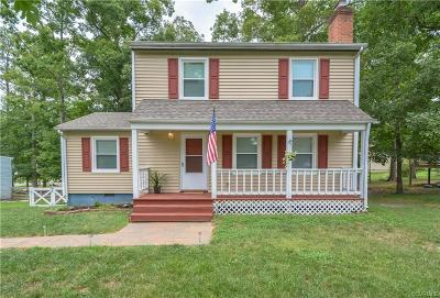 Chesterfield VA Single Family Home For Sale: $175,000