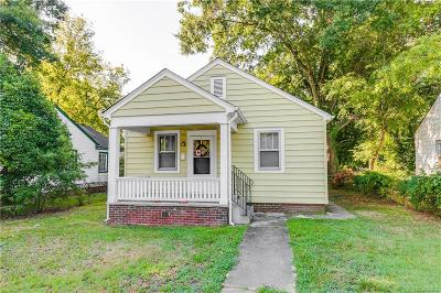 Richmond Single Family Home For Sale: 2104 Harwood Street