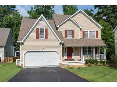 Midlothian Single Family Home For Sale: 6624 Glen Ridge Court