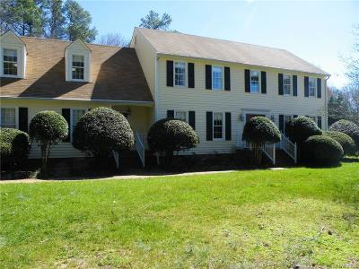 Chesterfield VA Single Family Home For Sale: $315,000