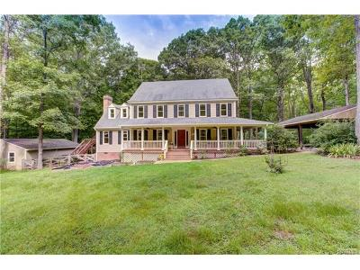 Hanover County Single Family Home For Sale: 13191 Waltons Tavern Road