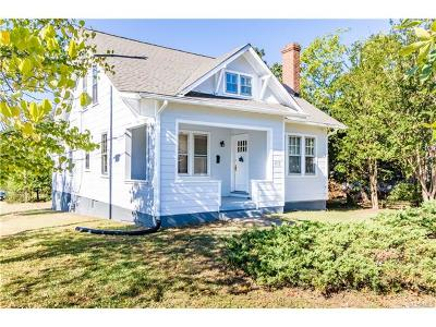 Richmond Single Family Home For Sale: 4713 Central Avenue