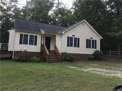 Chesterfield County Single Family Home For Sale: 12548 Percival Street