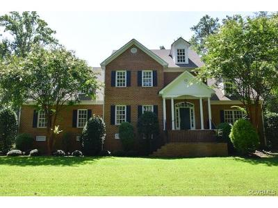 Hanover County Single Family Home For Sale: 15391 Harlow Farm Way