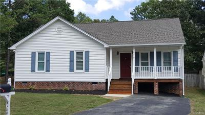 Mechanicsville Single Family Home For Sale: 8200 Skirmish Lane