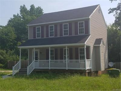Hopewell VA Single Family Home For Sale: $109,950