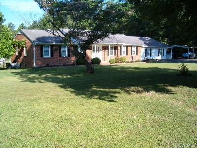 Midlothian Single Family Home For Sale: 8700 North Spring Run Road