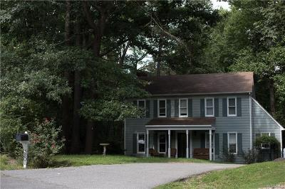 Chesterfield County Single Family Home For Sale: 3801 Paulhill Road