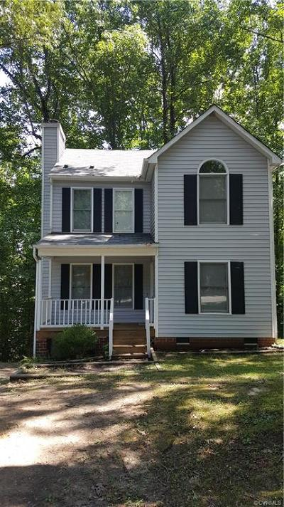 Chesterfield VA Single Family Home For Sale: $173,000