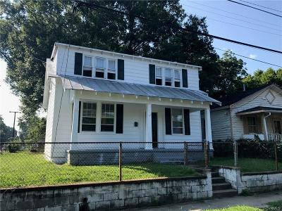 Richmond VA Single Family Home Sold: $62,000