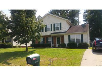 Henrico Single Family Home For Sale: 1433 Almond Tree Drive