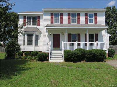 Mechanicsville Single Family Home For Sale: 8269 Southern Watch Place