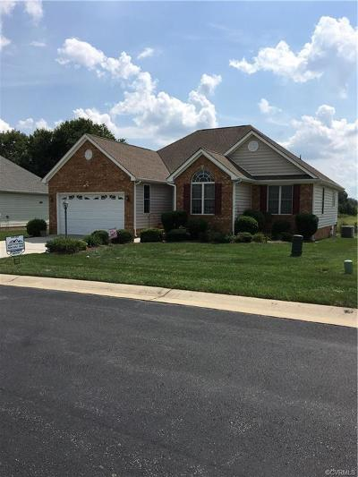 Prince George VA Single Family Home For Sale: $210,000