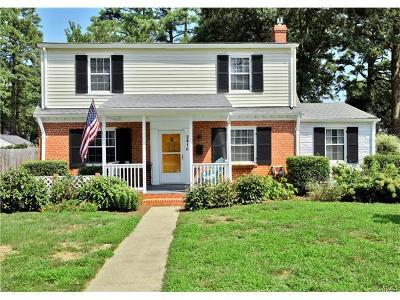 Henrico Single Family Home For Sale: 2410 Buckingham Avenue