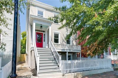 Richmond Single Family Home For Sale: 802 North 25th Street