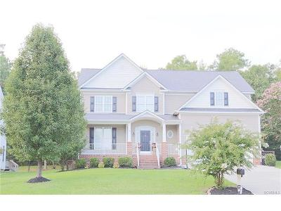 Chesterfield County Single Family Home For Sale: 7757 Hampton Green Drive